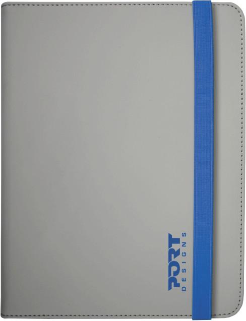PORT DESIGNS NOUMEA Univerzální pouzdro na tablet 7/8'', šedo-modré