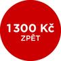 Cashback 1 300 Kč po registraci