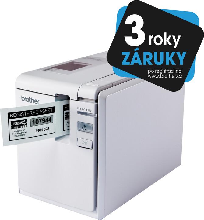 Brother PT-9700PC tiskárna štítků
