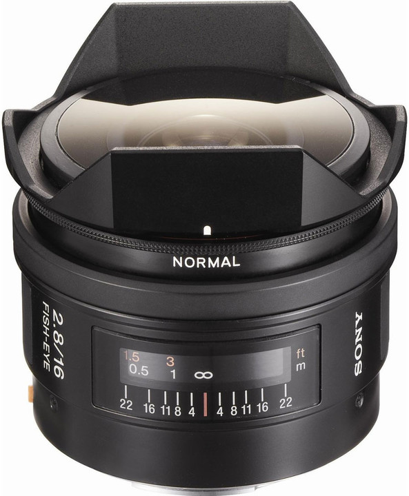 Sony 16mm f/2.8 Rybí oko