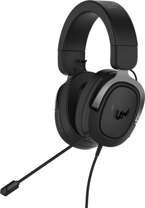 ASUS TUF Gaming H3, černá/šedá