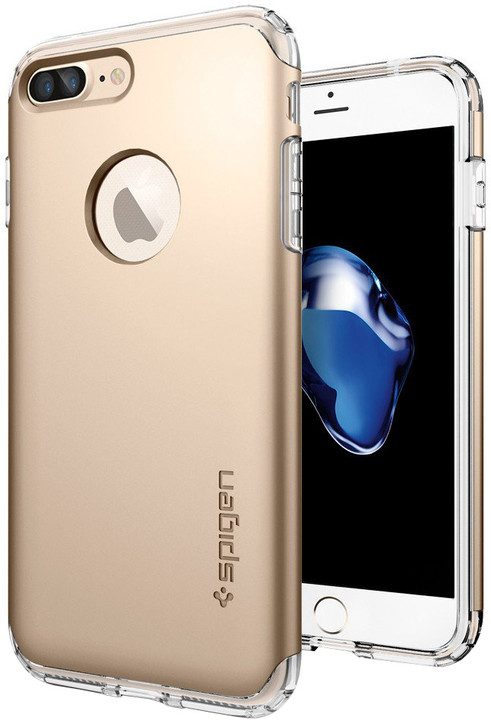 Spigen Hybrid Armor pro iPhone 7 Plus, champagne gold