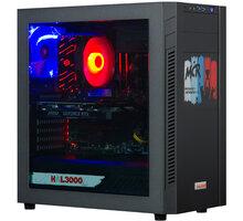 HAL3000 Mega Gamer Pro MČR SE, černá - PCHS2386 + Intel Big Boss Battle pack - balíček her, aplikací a kreditu do her v hodnotě přes 3 500,- Kč