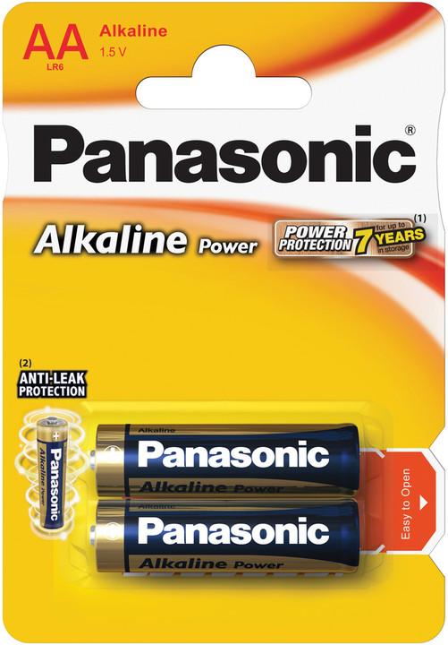 Panasonic baterie LR6 2BP AA Alk Power alk