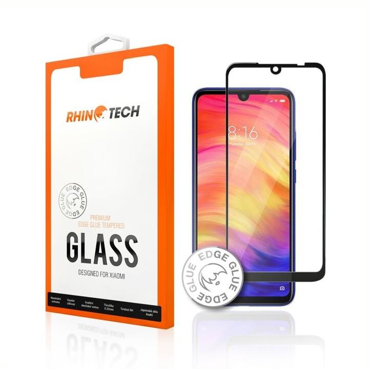 RhinoTech 2 tvrzené ochranné 2.5D sklo pro Xiaomi Redmi 6 / 6A (Edge Glue), bílá