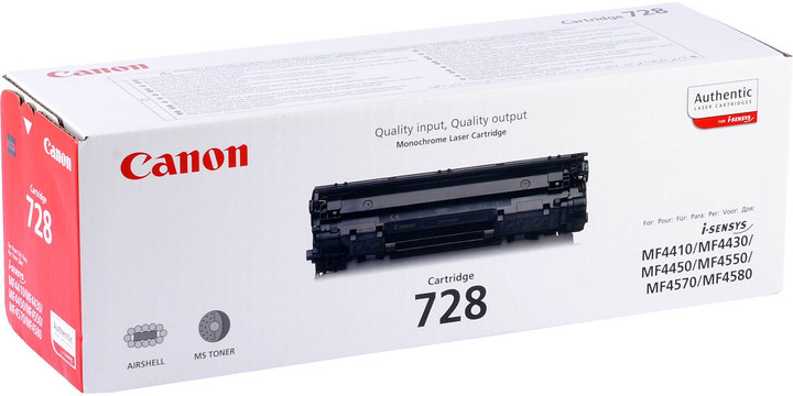 Canon CRG-728, černý