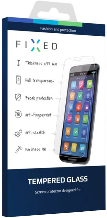 FIXED ochranné tvrzené sklo pro Moto G4 Play, 0.33 mm