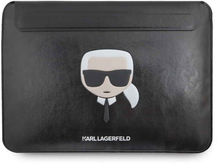 Karl Lagerfeld KLCS133KHBK kožené sleeve vpro MacBook Air/Pro