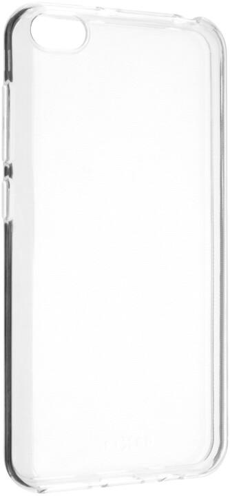 FIXED ultratenké TPU gelové pouzdro Skin pro Xiaomi Redmi Go, 0,6 mm, čiré