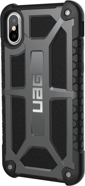 UAG Monarch case - iPhone X, graphite
