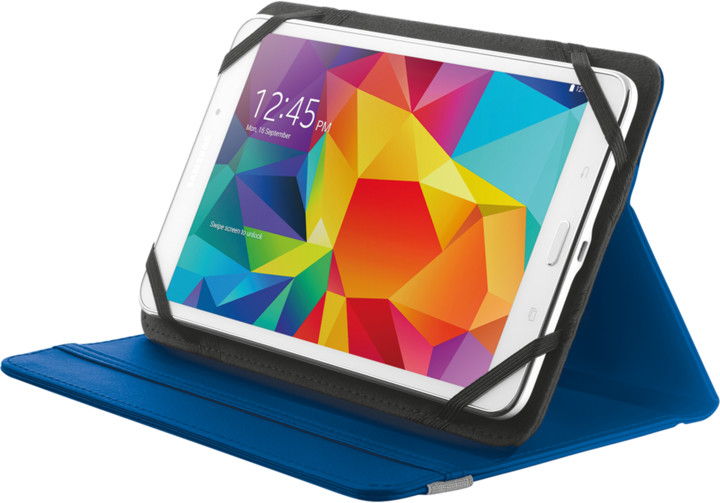 "TRUST Primo Folio Case with Stand for - 7"" - 8"" tablets, modrá"