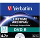Verbatim DVDR 4,7GB, M-Disc, 4x, 5 ks, Jewel