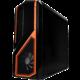 NZXT Phantom 410, bez zdroje, černá/oranžová  + Voucher až na 3 měsíce HBO GO jako dárek (max 1 ks na objednávku)