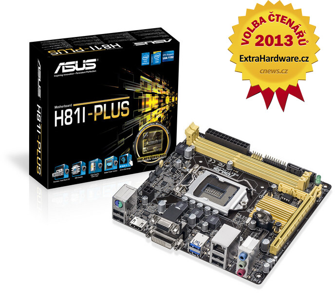 ASUS H81I-PLUS - Intel H81
