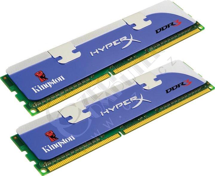 Kingston HyperX 4GB (2x2GB) DDR3 1600 XMP CL8