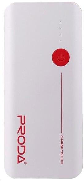 Remax Proda, 20000 mAh, bílo-červená