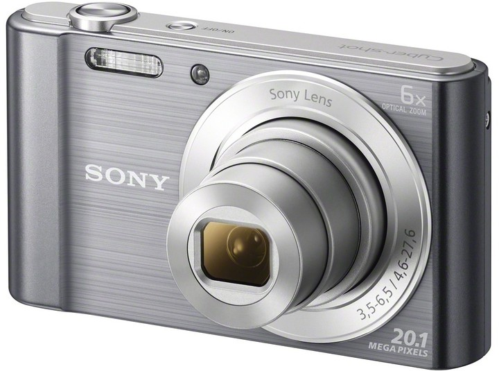 Sony Cybershot DSC-W810, stříbrná