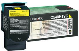 Lexmark C540H1YG - žlutá, return