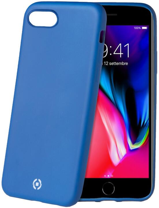 CELLY Sotmatt TPU pouzdro pro Apple iPhone 7/8, matné provedení, modré