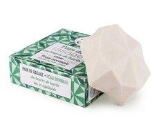 Mýdlo Lamazuna, na holení, pro normální pokožku, tuhé, zelený čaj/citrón, 55 g - LAM013