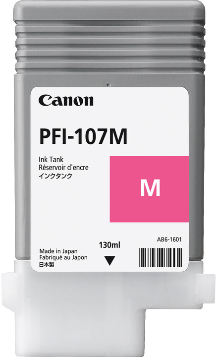 Canon PFI-107M, magenta