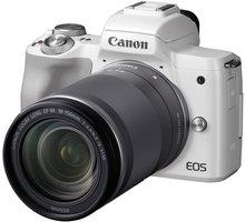 Canon EOS M50, bílá + EF-M 18-150mm IS STM - 2681C042