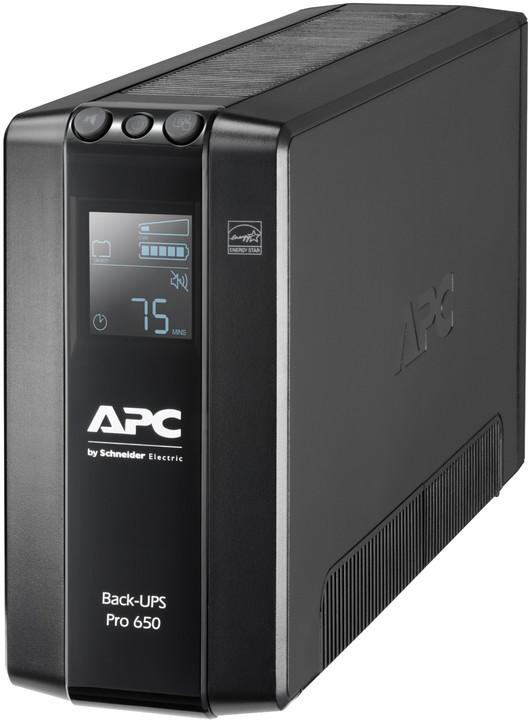APC Back UPS Pro BR 650VA, 390W