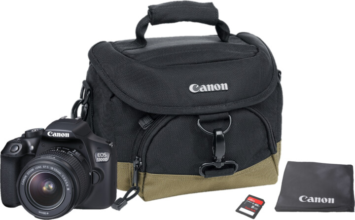 Canon EOS 1300D + 18-55 DC III Value UP Kit