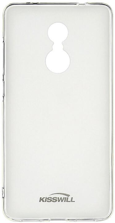 Kisswill TPU pouzdro pro Xiaomi Redmi Note 4 Global, transparentní