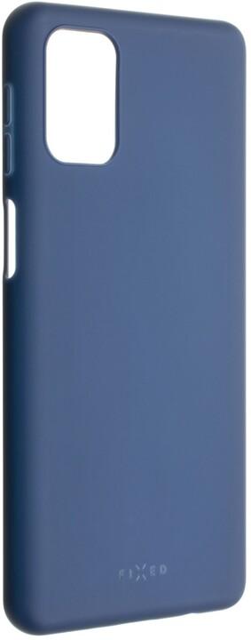 FIXED pogumovaný kryt Story pro Samsung Galaxy M31s, modrá