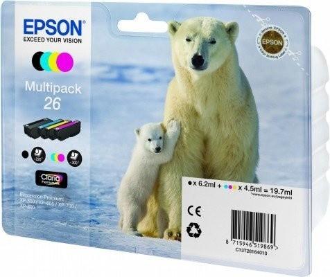 Epson C13T26164010, multipack
