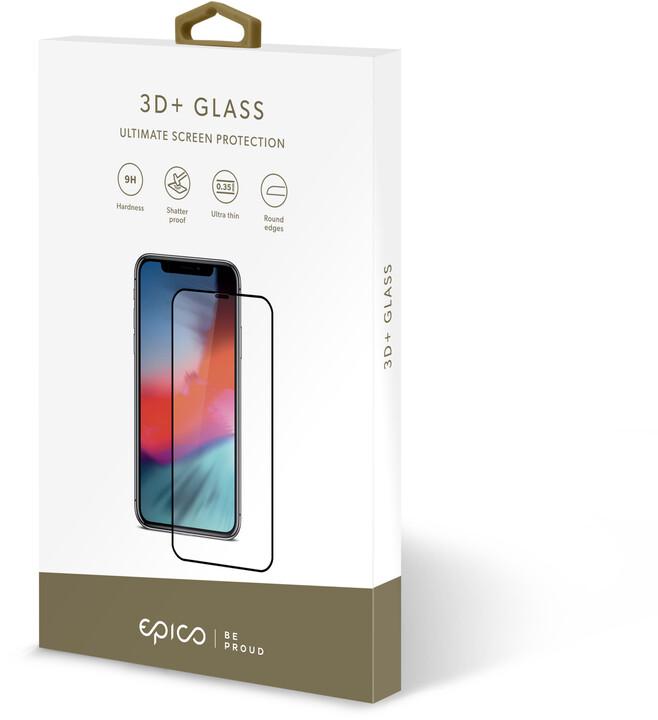 EPICO GLASS 3D+ tvrzené sklo pro iPhone X/XS/11 Pro, černá