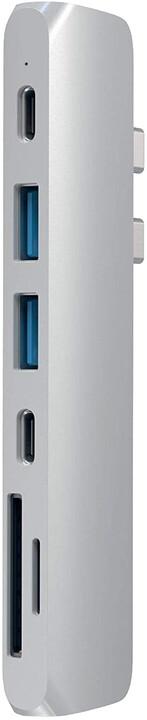 Satechi Type-C Pro HUB 4K HDMI, stříbrná