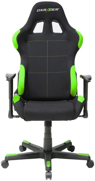DXRacer Formula OH/FD01/NE, černá/zelená