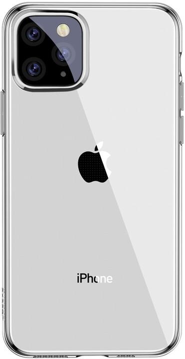 BASEUS Simplicity Series gelový ochranný kryt pro Apple iPhone 11 Pro Max, čiré