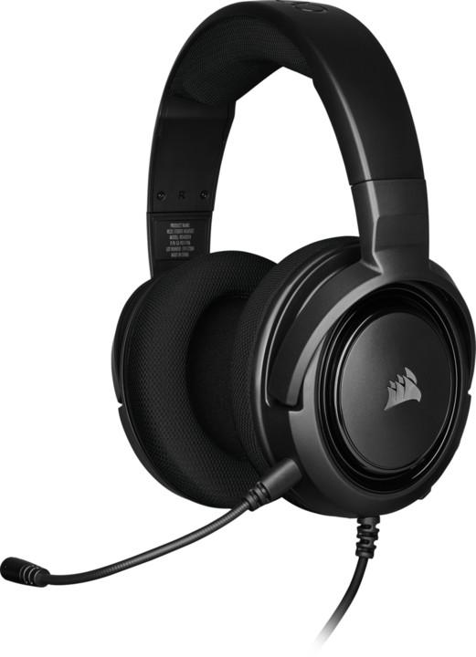 Corsair HS35 Stereo, černá