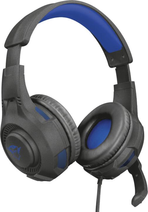 Trust GXT 307 Ravu, černá/modrá