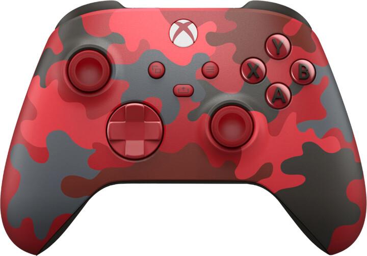 Xbox Series Bezdrátový ovladač, Daystrike Camo