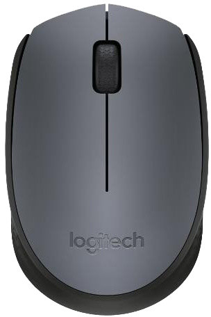 Logitech Wireless Mouse M170, šedá