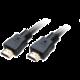 Akasa kabel HDMI - HDMI, M/M, pozlacené konektory, 8K@60Hz, 2m, černá
