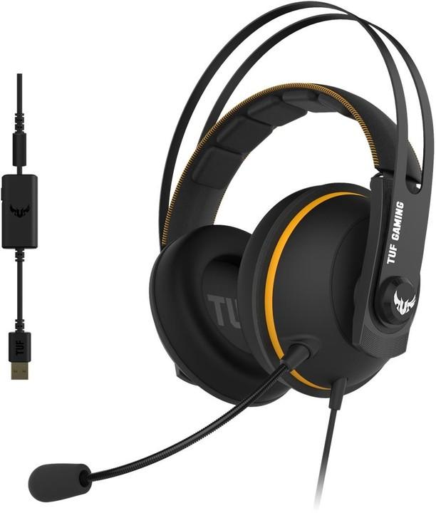 ASUS TUF Gaming H7, černá/žlutá