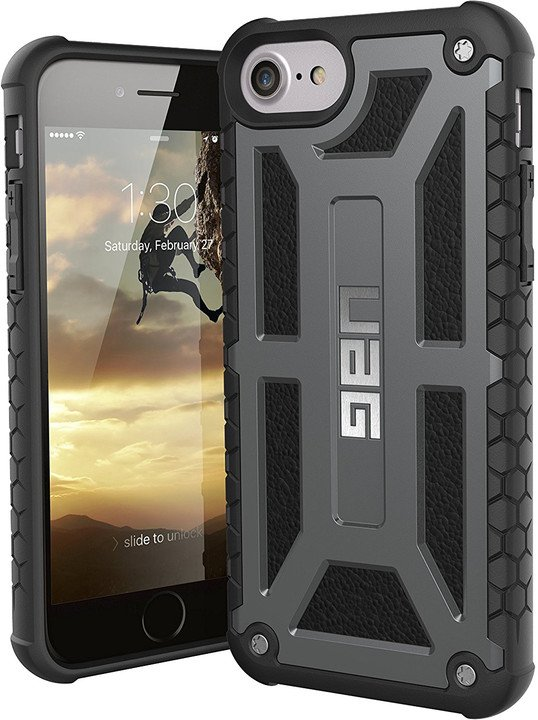 UAG Monarch Premium Line-Graphite - iPhone 8/7/6s