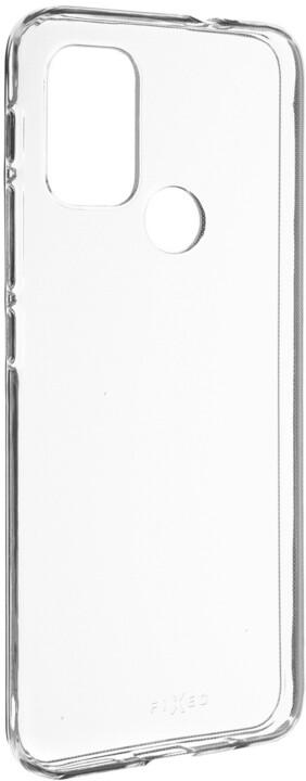 FIXED gelové pouzdro pro Motorola Moto G10/G30, čirá