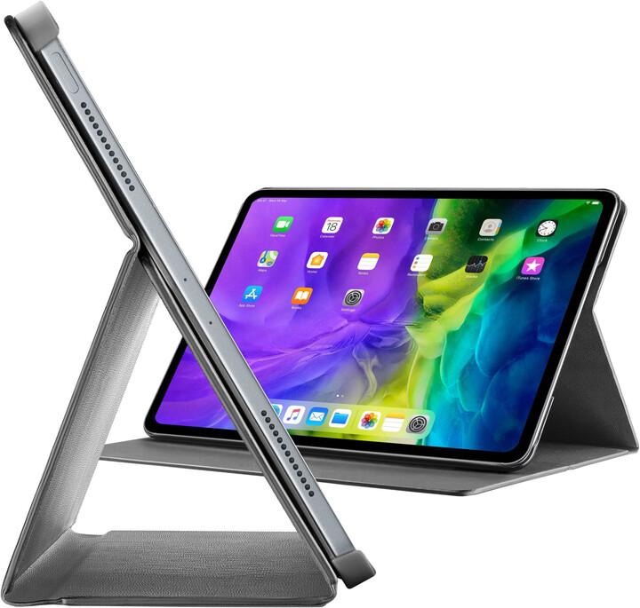 """CellularLine pouzdro se stojánkem FOLIO pro Apple iPad Pro 12.9"""" (2020), černá"""