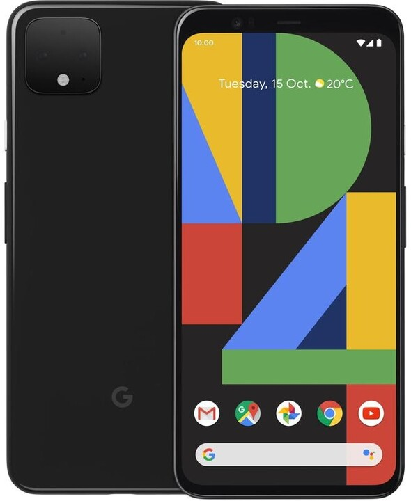 GOOGLE Pixel 4 XL, 6GB/64GB, Just Black
