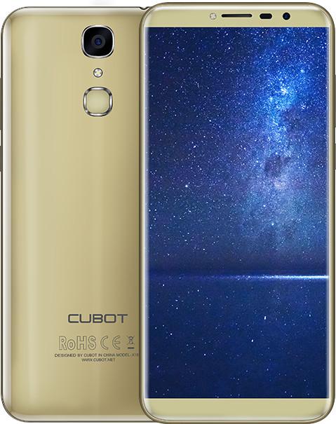 CUBOT X18 - 32GB, zlatá