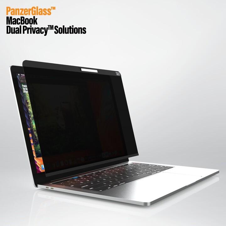 """PanzerGlass Privacy filtr pro zvýšení soukromí k notebooku MacBook Air/Pro 13.3"""""""