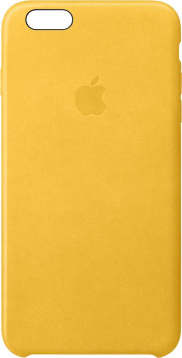 Apple iPhone 6s Plus Leather Case, Marigold