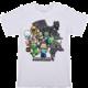 Tričko Minecraft Party, bílé (US L / EU XL)