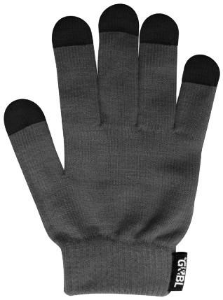 GEBL rukavice iTECH s elektrovodivými konečky 3574 (5 prstů) velikost XL, šedá
